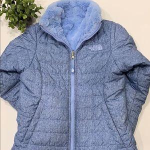 Girls Revirsible Mossbod Swirl Jacket Size S 7/8